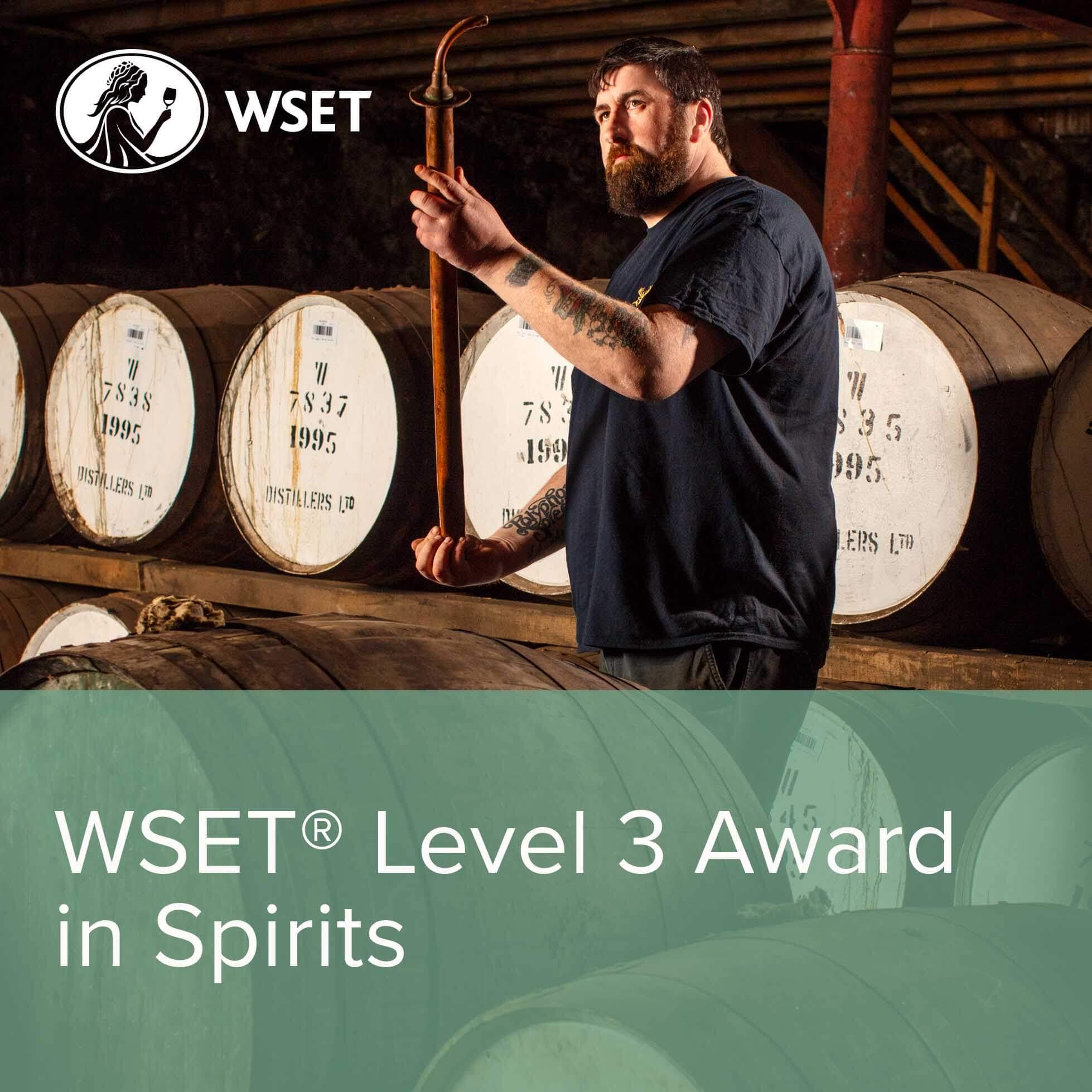 WSET Level 3 Spirits